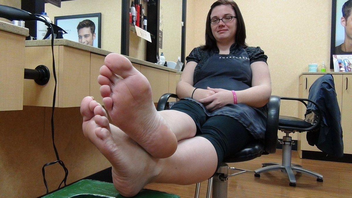 Bbw big feet