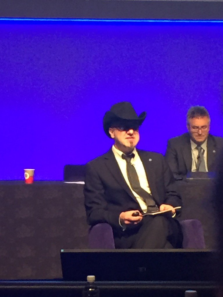 The Engineer in the hat! #ASEC2015 https://t.co/OMrxcd0pLZ