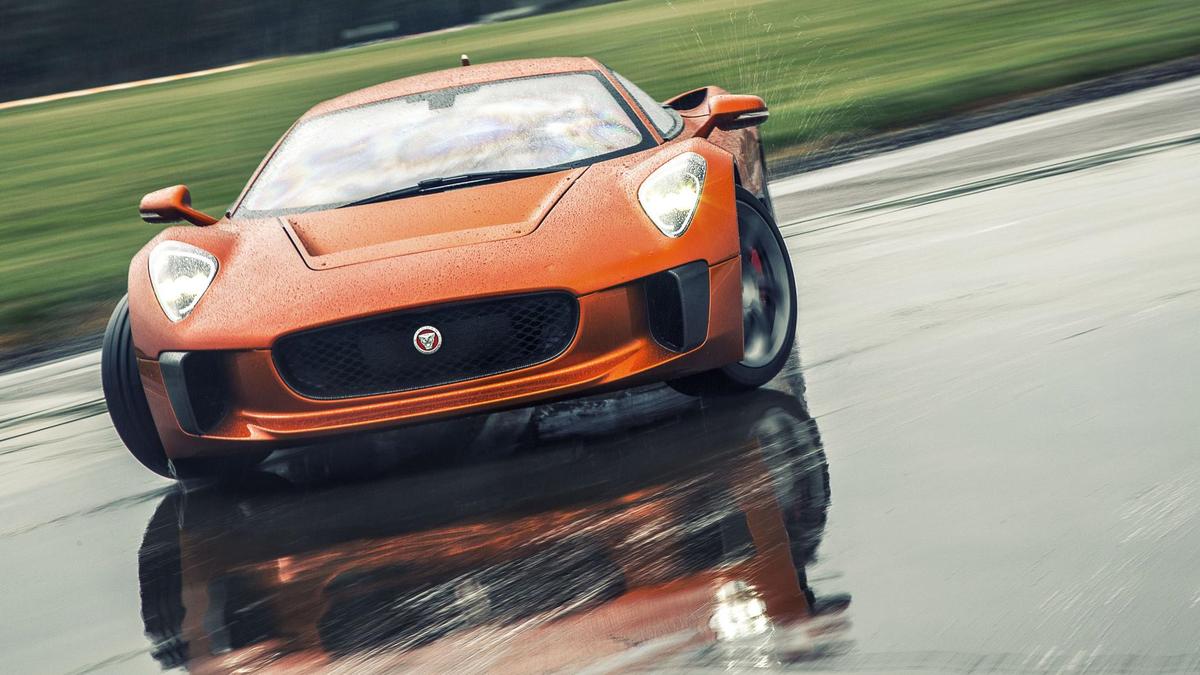 Top Gear Drive Spectre S Very Evil Jaguar Cx75 Http Www Topgear Car News Bond Cars Special Driving Spectres C X75 1