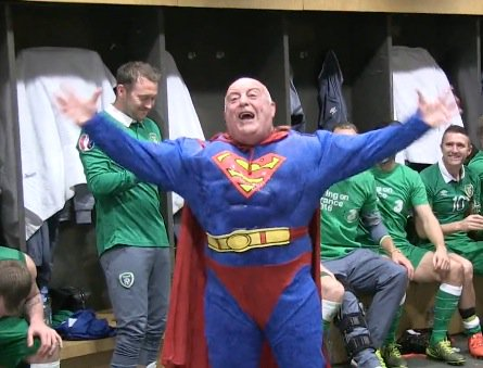 60-year-old Irish kit man Dick Redmond in a Superman costume is the  sc 1 st  Scoopnest.com & 60-year-old irish kit man dick redmond in a superman costume is the ...