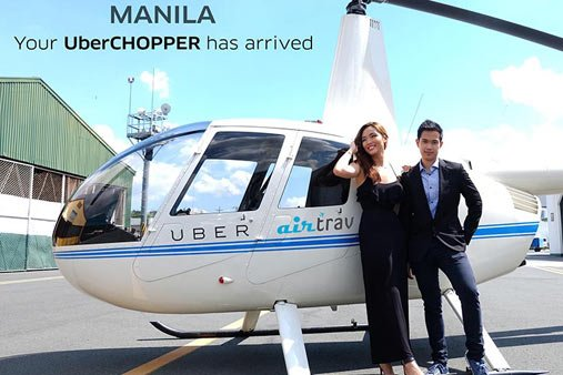 Uber, Grab take rivalry to the sky with chopper service https://t.co/HFtxOErPHA https://t.co/fdvgf6K9dN