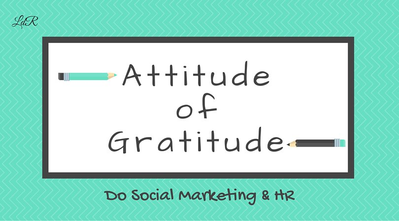 Everyday - NOT just close to the holidays! Have #gratitude in ur professional & personal interactions #Inspiration https://t.co/6DFGq10z4K