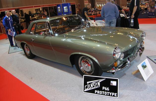 The Classic Car Show On Twitter Unique Jensen P Prototype Lands - Unique car show awards