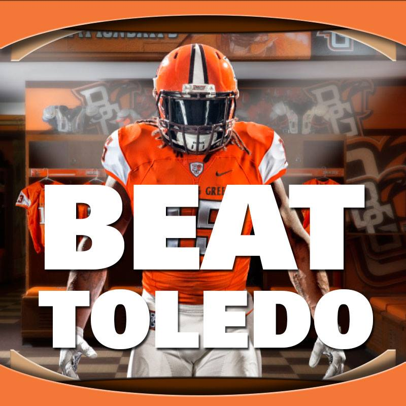 It's Game Day!! Kickoff is 6pm. BE THERE! #BeatToledo #BattleofI75  https://t.co/ZJ5j1zU8O2 https://t.co/npNnoFEEZv