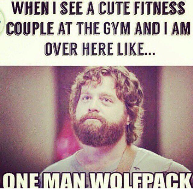 single taken gym meme