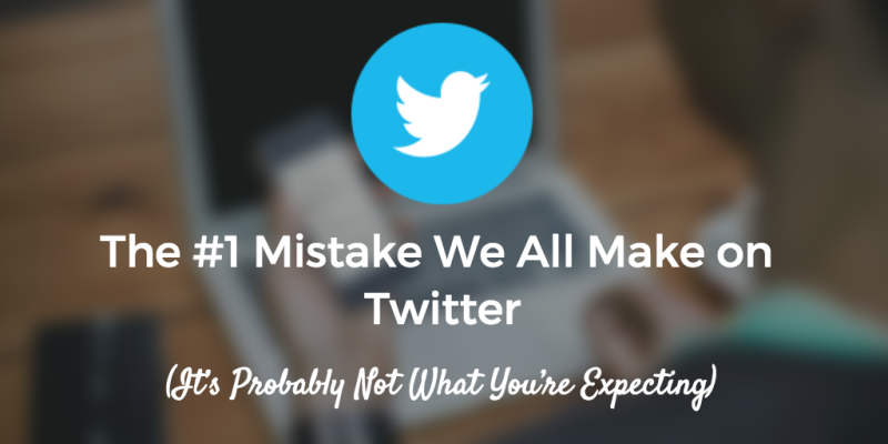 New post on the @buffer blog: The #1 Mistake We All Make on Twitter: https://t.co/QOlRTHrM2r https://t.co/OxkyPx11tW