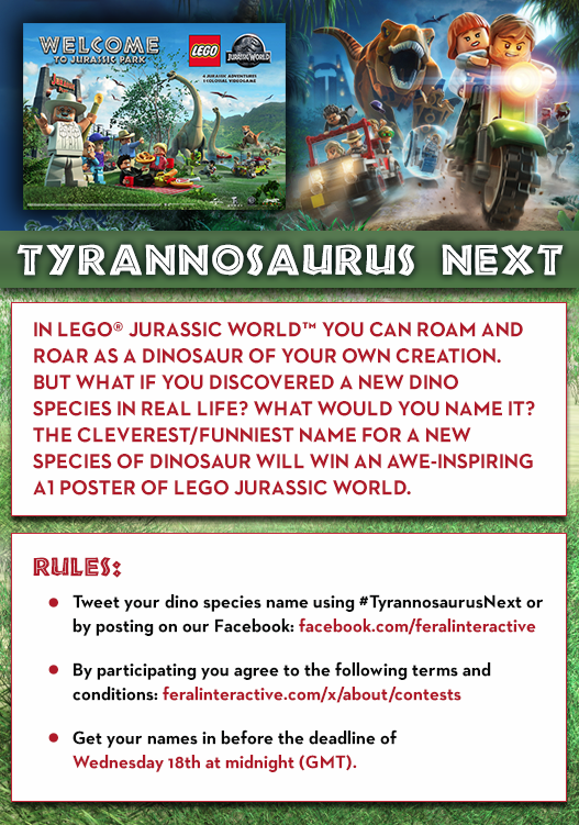 Lego jurassic game legojurassic twitter 4 replies 8 retweets 18 likes gumiabroncs Images