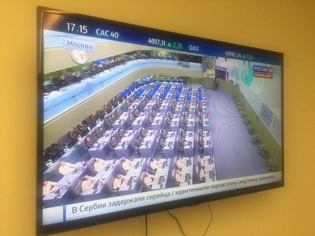 Показали массивную трехъярусную военную комнату Владимира Путина