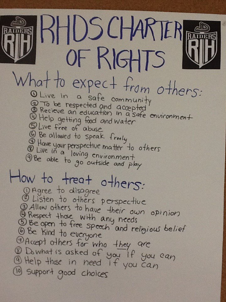 River Hebert students share their Charter of Rights during #RCMPTalks with @MollyBOfficial https://t.co/8kq7Gr7jXj