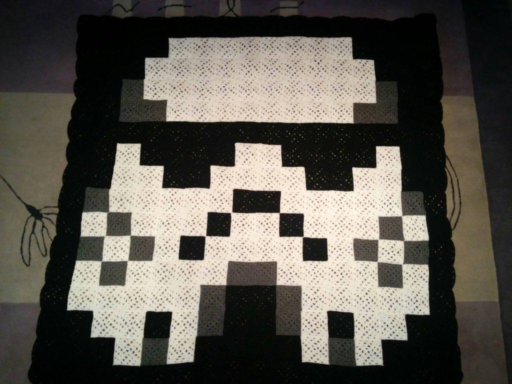 Geek shout on twitter crochet pixel starwars srormtrooper blanket geek shout on twitter crochet pixel starwars srormtrooper blanket by cathy sedgwick geekhour httpstzfzwbidbba publicscrutiny Gallery