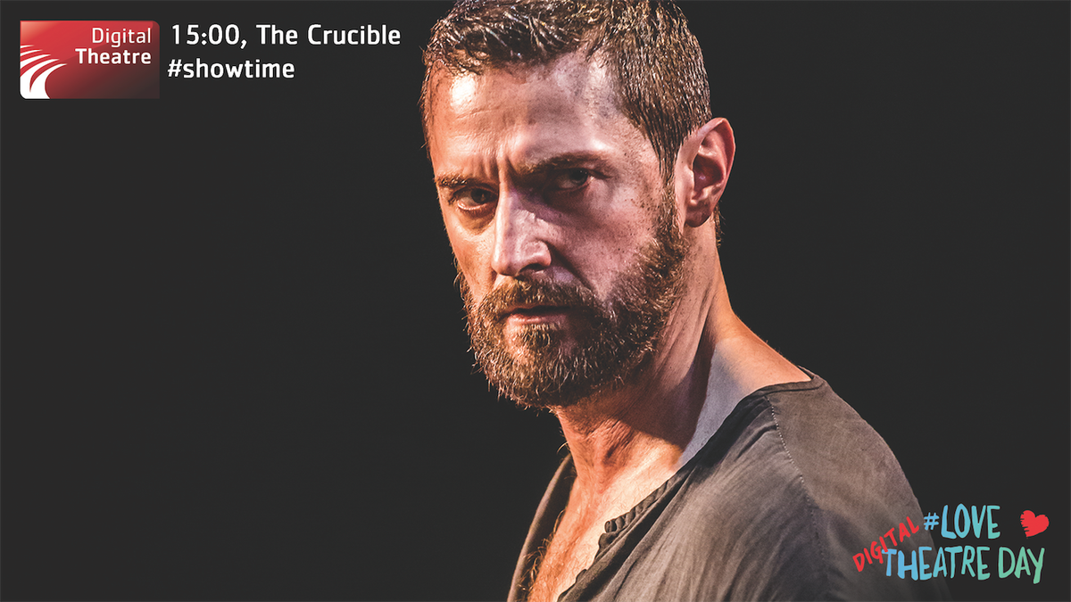 Hit play on #TheCrucibleonScreen at 15:00. @yfarber's magnificent production stars @RCArmitage #LoveTheatreDay https://t.co/gqscePoYzW