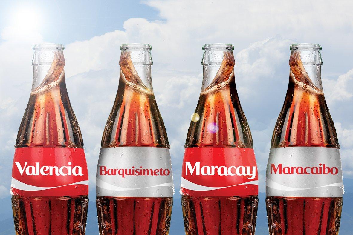 Estaremos en Valencia, Barquisimeto, Maracay y Maracaibo a partir de diciembre ¡Espéranos! #ComparteCocaCola https://t.co/JsvyQEvbsc