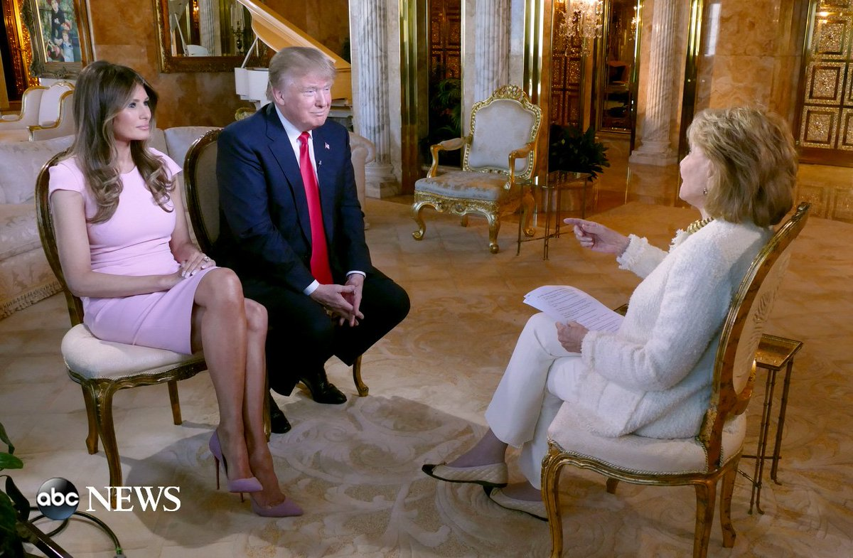 Just sat down w/ @realdonaldtrump & Melania. Intv w/ his family #abc2020 Friday. Tonight we talk ISIS @WNTonight https://t.co/p6tMCt0mRi