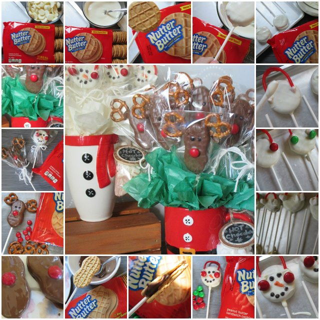 #HowTo Make Simple Snowmen &Reindeer #Holiday Cookie Bouquets https://t.co/hElGdRqa5H #NuttyForTheHolidays #Craft ad https://t.co/FjCTuyPciV