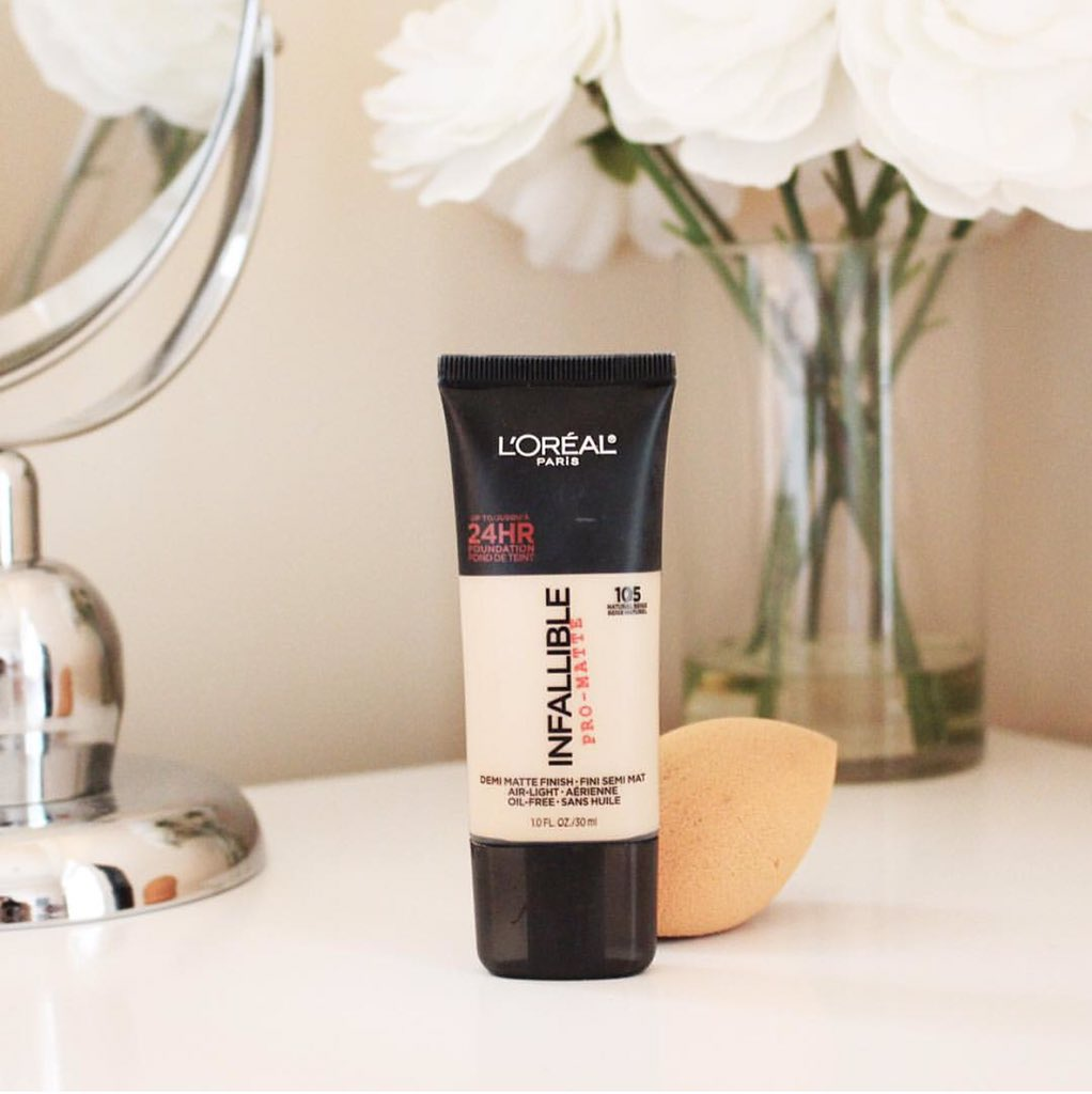 Dont Let Today Be A Waste Of Makeup Featuring Infallible Pro Matte Loreal Paris Foundation