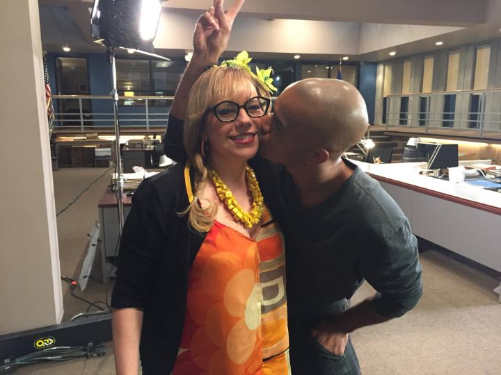 I always enjoy seeing @Vangsness and @shemarmoore on the #criminalminds set. Thanks to you both for today..... https://t.co/Mg8qYpwJEe