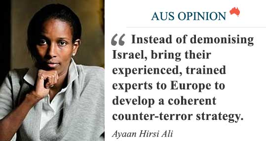 Opinion: Look to Israel for answers, writes @Ayaan Hirsi Ali. https://t.co/V9yr6bqlFu