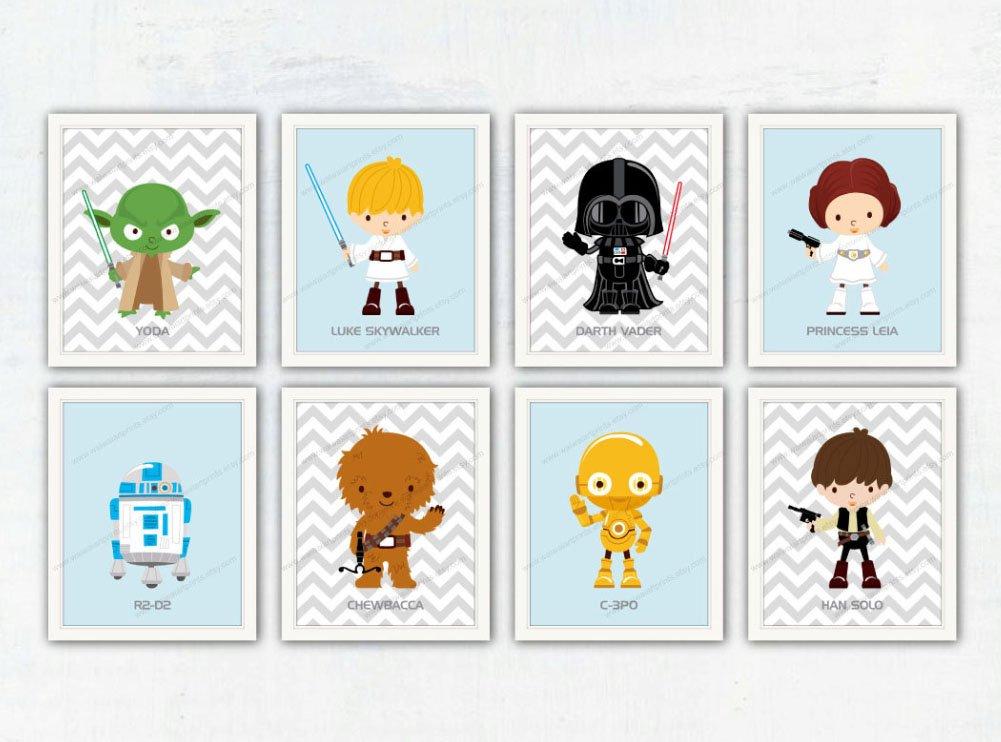 ... Baby Shower Gift # BB8 # R2D2 # Star Wars Poster # Gift For Kids  Https://www.etsy.com/shop/waiwaiartprints?refu003dlisting Shop Header Item Count  U2026 ...