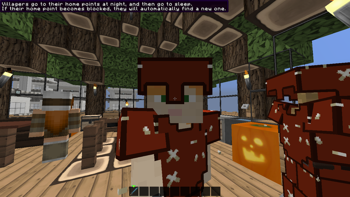 Embedded image permalink for Blancana y mirote minecraft