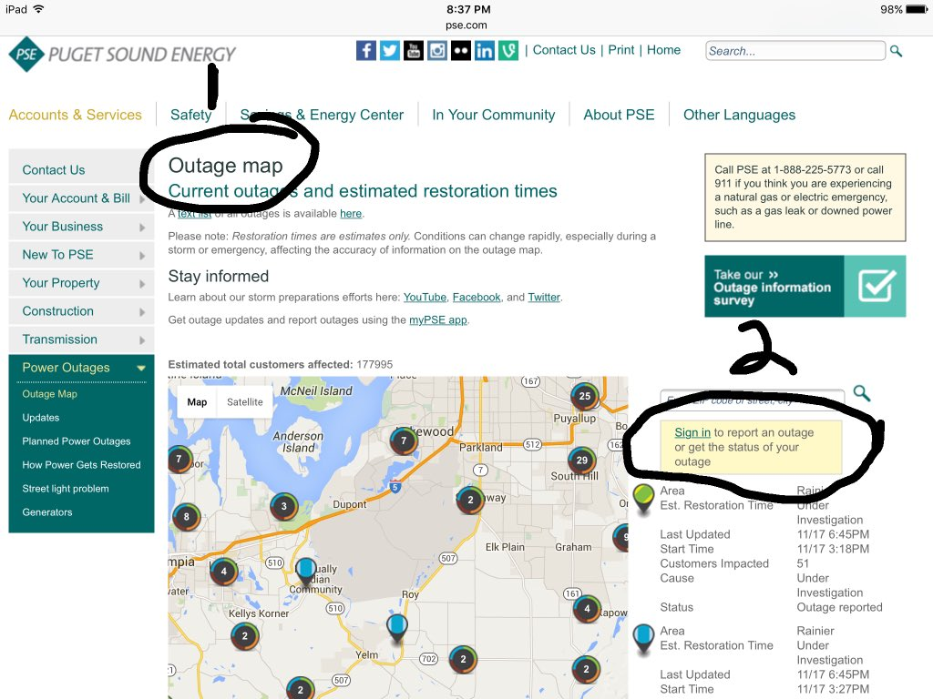 snopud power outage map Snohomish County Pud On Twitter This Storm Has The Potential To