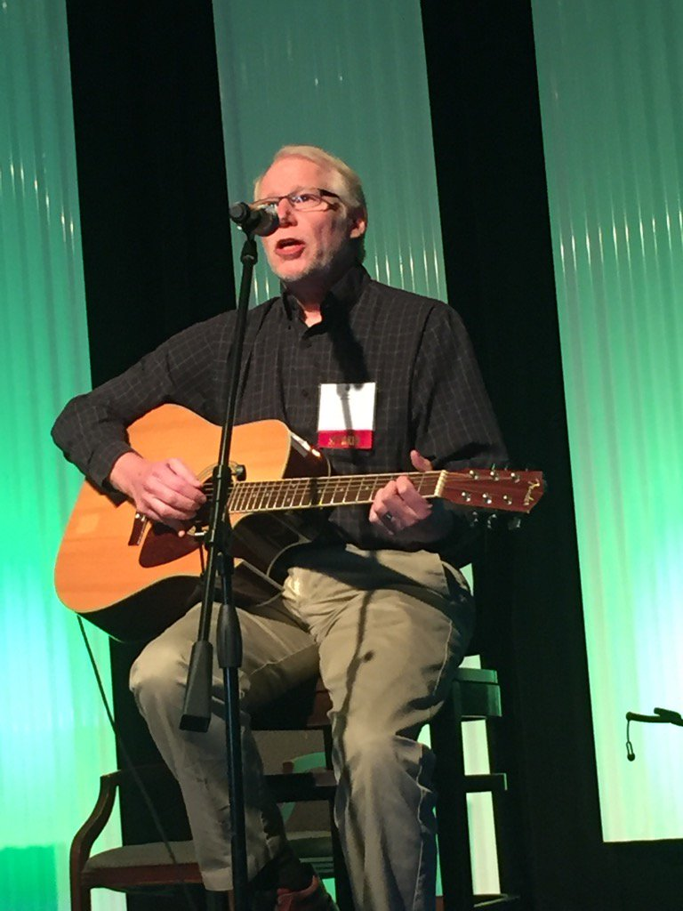 Step by step, side by side! Singing along with Dr. Al Power at #GHP15 https://t.co/fUGlypx1yl