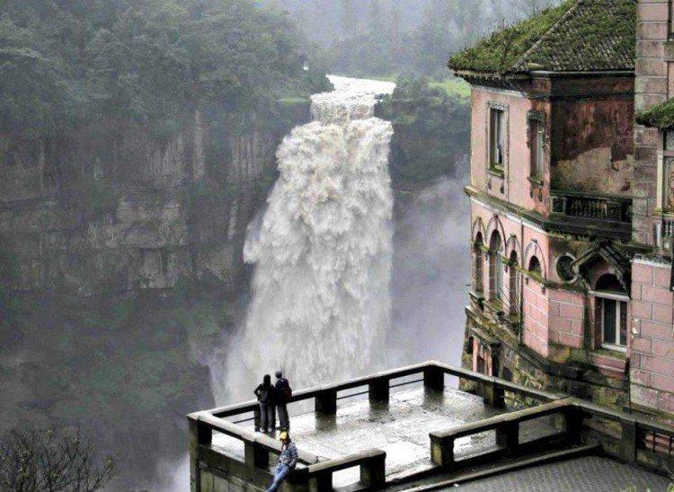 отель сальто в колумбии легенды фото стационарном