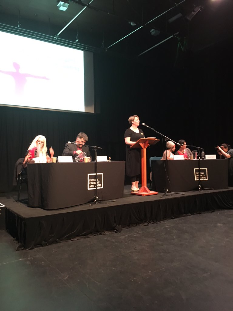 The debate begins! Speakers discuss 'Feminists must unite against #racism' Follow #WHWdebate https://t.co/lrBdfKsy8b