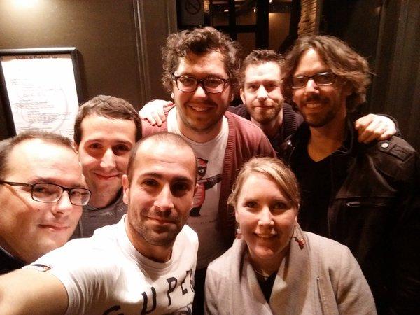 Apero SEO à Rennes avec Sylvain Peyronnet et la team SEO rennes