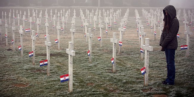 "Jeffrey Bačić on Twitter: ""In memory of #Vukovar & #Škabrnja massacre victims by the Serbs in 11.18.1991. Živjela #Hrvatska!"