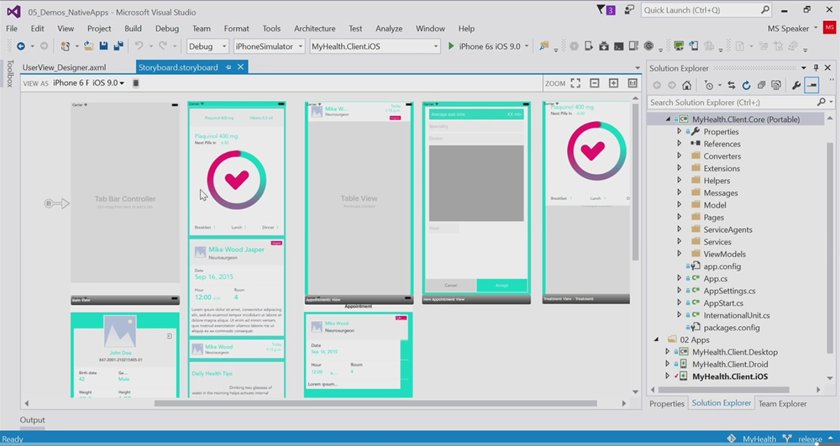 Wait. Did I just see iPhone development storyboarding in @VisualStudio at #Connect2015?  MIND. BLOWN. https://t.co/gxJYVAOnGw