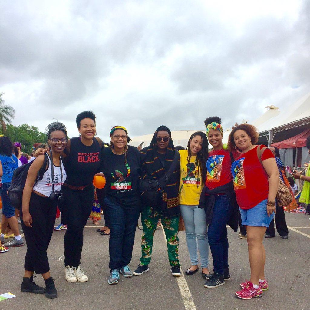 We out here!! #MarchaDasMulheresNegras @AWID #afrifem #blackfeminisms https://t.co/ef3GkW7xc6
