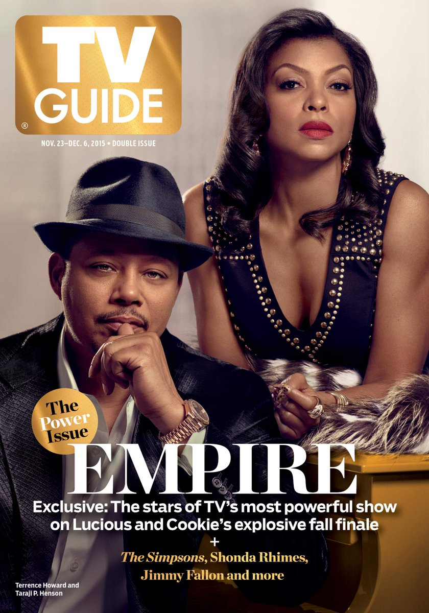 #Empire en une du nouveau TV Guide https://t.co/wJxgdNmbIX