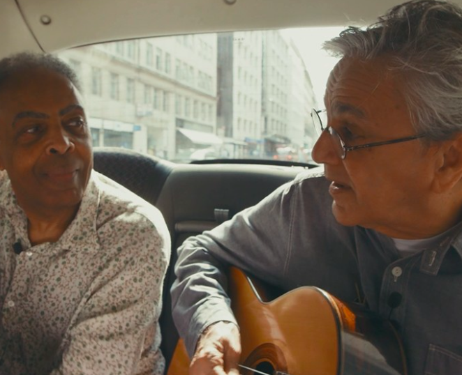 LIVE! Our session w/ 2 of Brazils finest @caetanoveloso + @gilbertogil - https://t.co/SXtAXhlNrZ #blackcabsessions https://t.co/zWtYRMxGFH