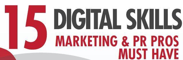 #15DigitalSkills every #PR & Marketing pro should master.(INFOG & Free course) https://t.co/wnQqr0x6jm https://t.co/fjxYoWfSAh