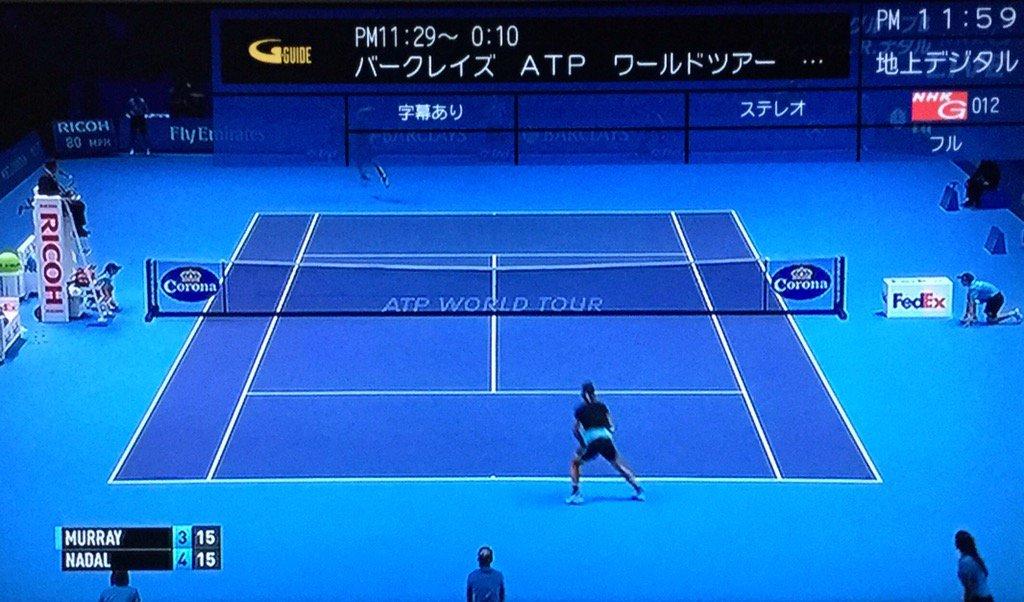テニス中継 nhk