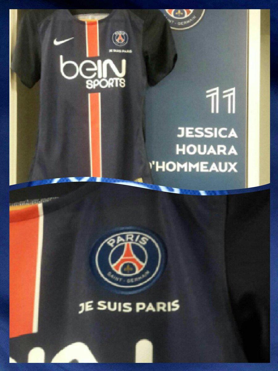 Ce soir nous porterons ce maillot spécial pour notre match de #ChampionsLeague #PSGORE #JeSuisParis