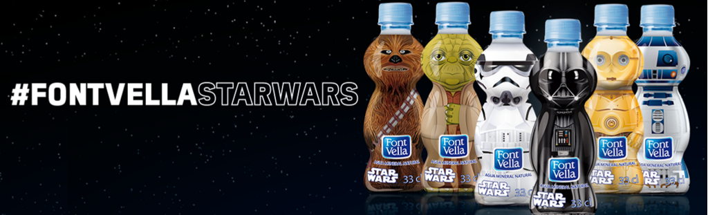 Botellines de agua de Star Wars CUGrKbgWUAAndB7