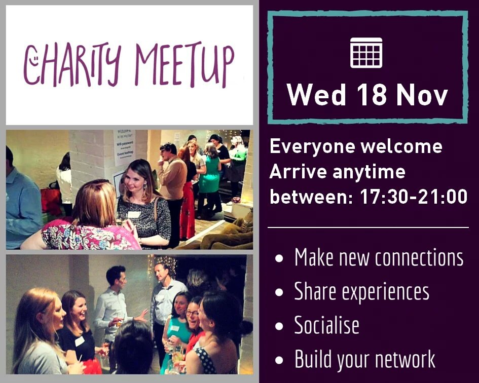 Join the friendly group at #charitymeetup tonight! At @FairlySq #Holborn https://t.co/RpKpDWK0aH https://t.co/FBMP0tFfBw