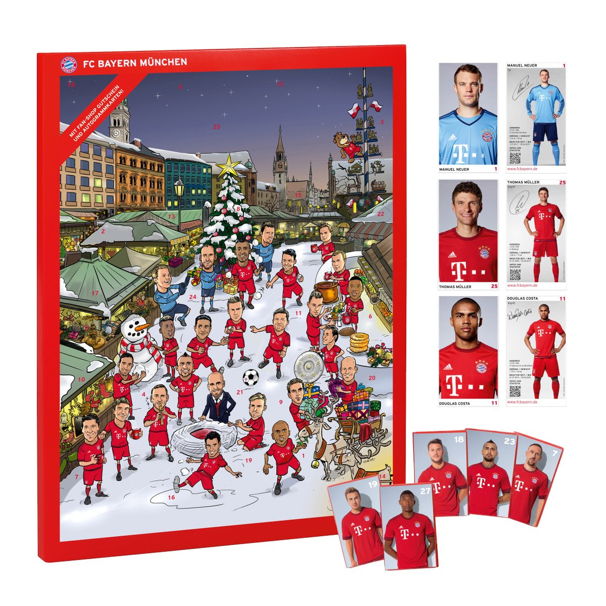 Adventskalender Fc Bayern