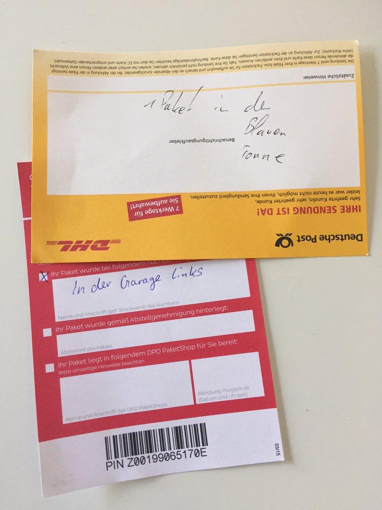 Matchday beim #Paketdienst: Abzug in der B-Note für #kopfüberSchreiben, trotzdem klares 1:0 für @DHLPaket https://t.co/qc31rjLBQ4