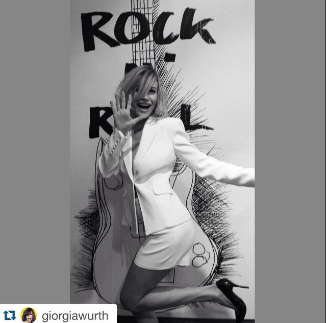 Thanks to @GiorgiaWurth ! It's only Rock and Roll! https://t.co/FyZqNBwO0c