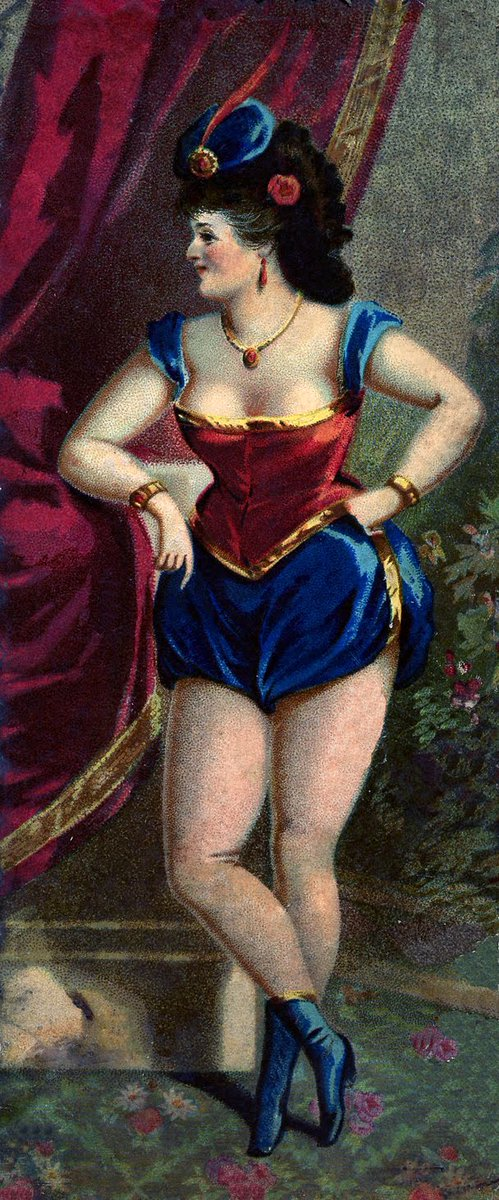 Remember that time when Wonder Woman was a Victorian showgirl? https://t.co/XMd9aWz1Wa