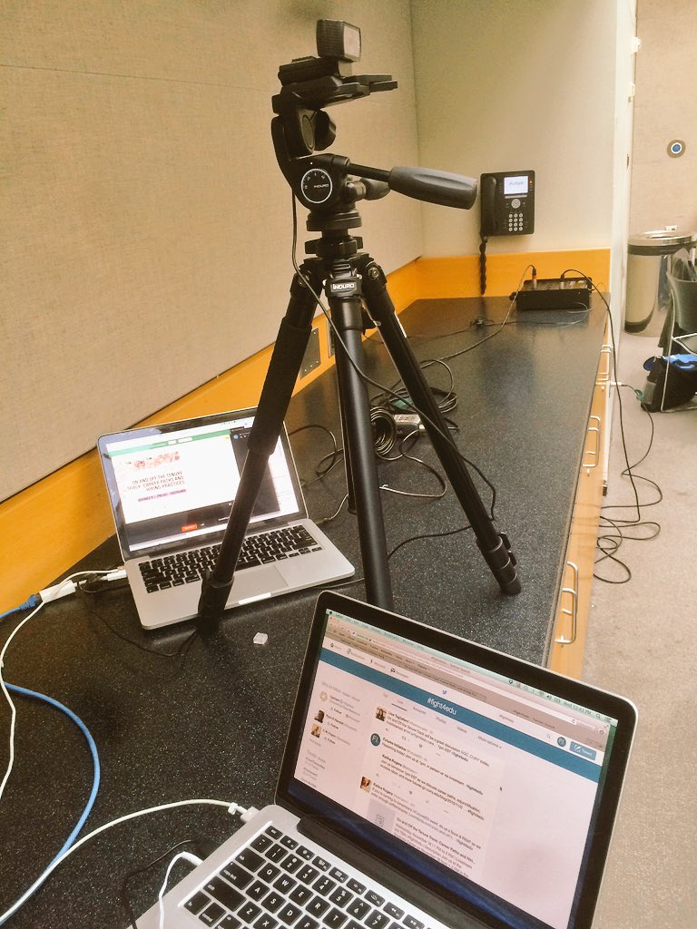 Feeling amazing after getting crazy livestreaming equipment set up for #fight4edu at 1p EST! https://t.co/XEa641u3Dz https://t.co/Stcrhm8qMd