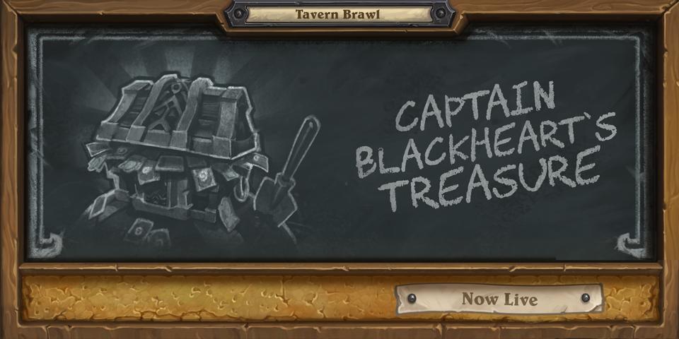 Image result for Captain Blackheart's treasure hearthstone