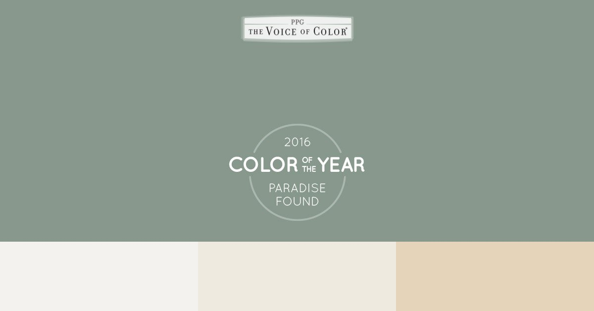 Ppg Voice Of Color On Twitter A Color Of The Year That Pairs Well