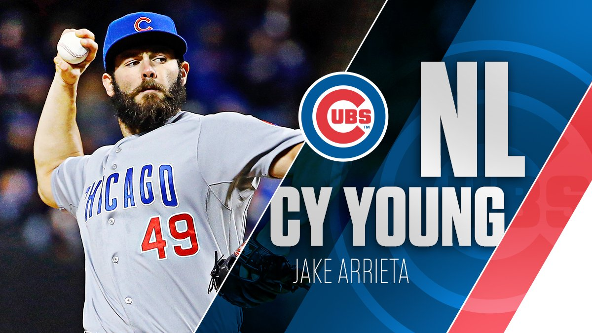 1b73e0e96 jake arrieta wins nl cy young award 1st cubs pitcher to win the cy young  since