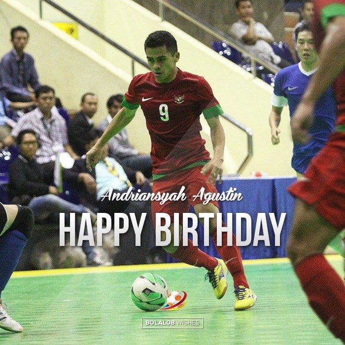 Selamat ulang tahun @9_andriansyah semoga karirnya semakin cemerlang dan sukses dalam semua lini