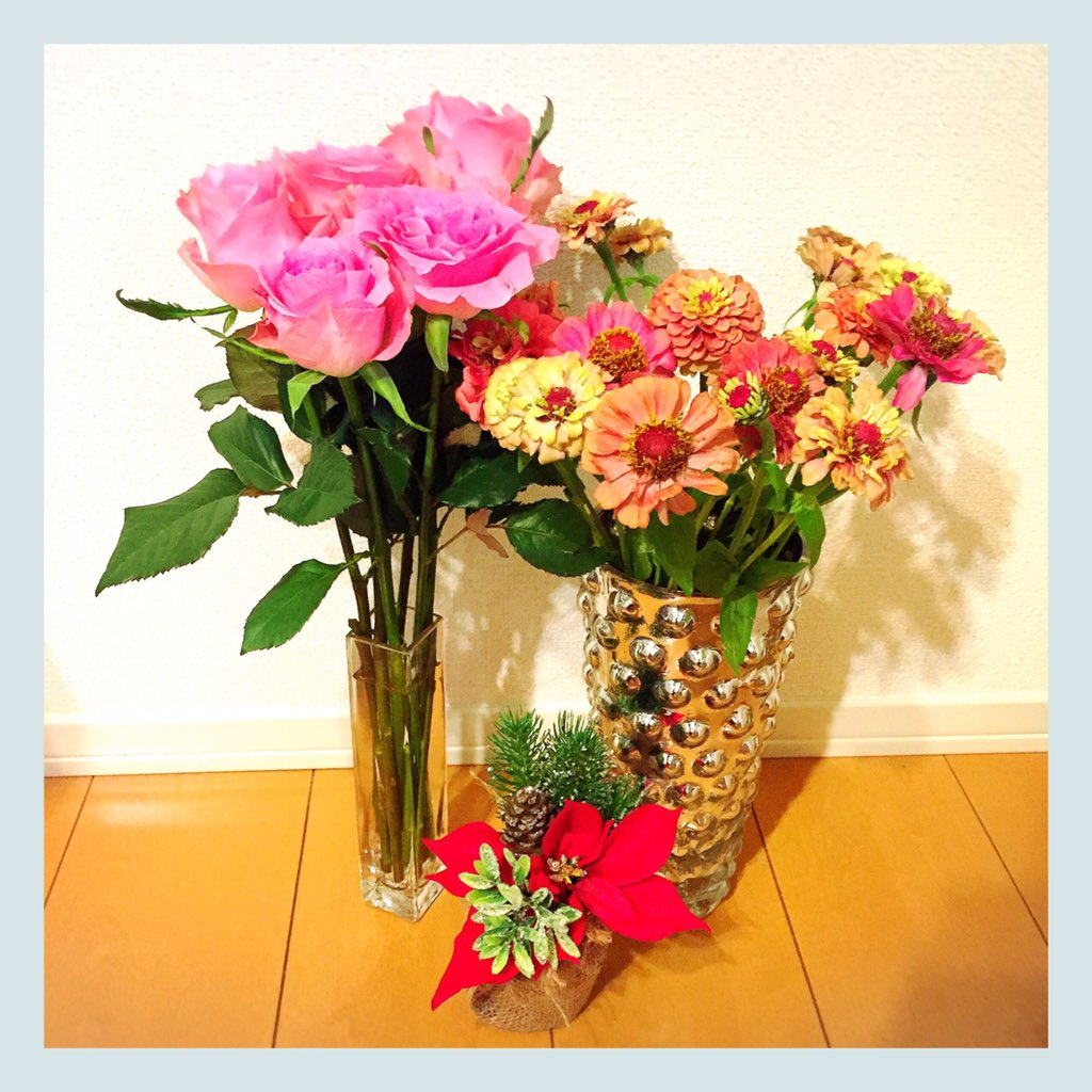 我が家のお花たち♡ https://t.co/iqm3bkhJoI