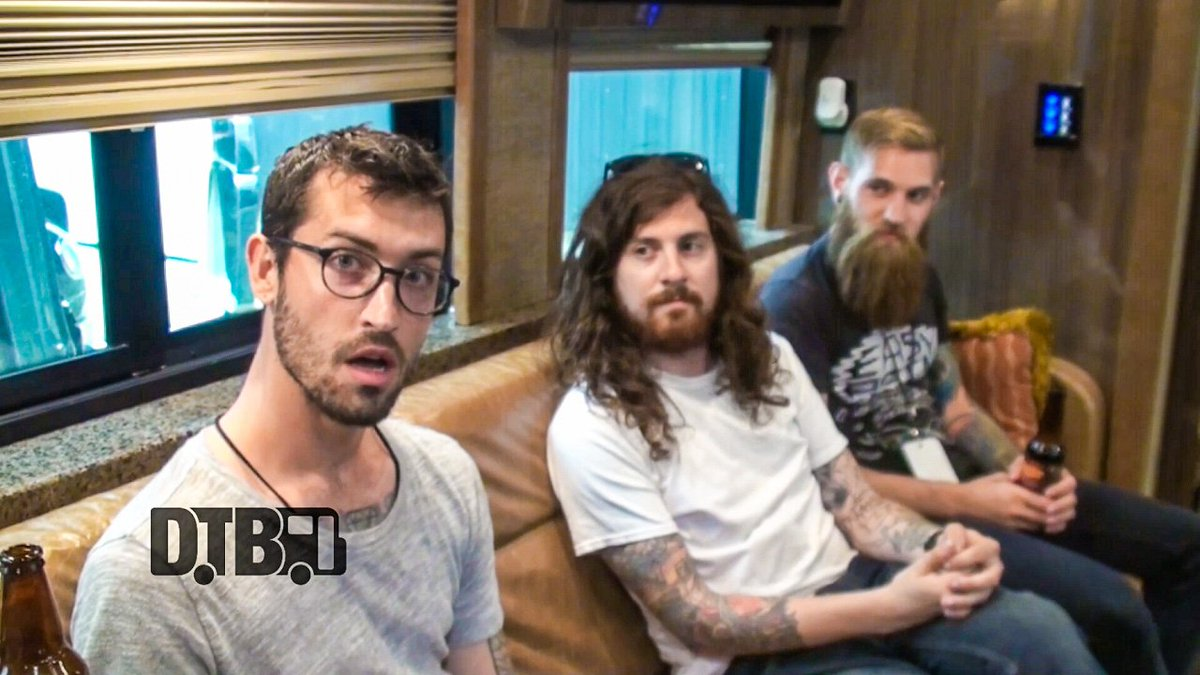 Go watch the metalcore band, @TDWPband, discuss what they do before taking the stage at https://t.co/tPZQrqBS5L https://t.co/94TTqKccYs