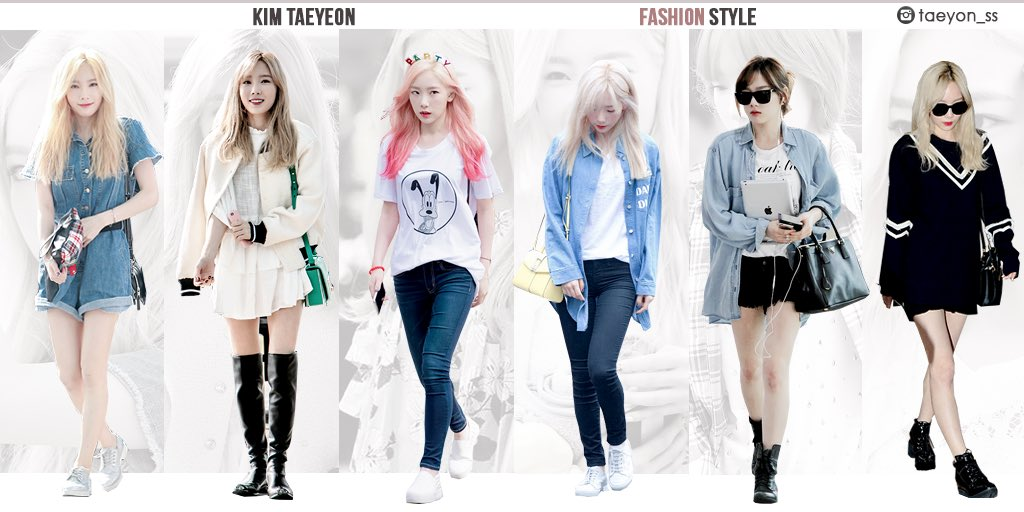 Girls 39 Generation On Twitter Snsd Taeyeon Fashion Style